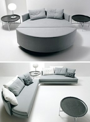 Modular sleeper sofa
