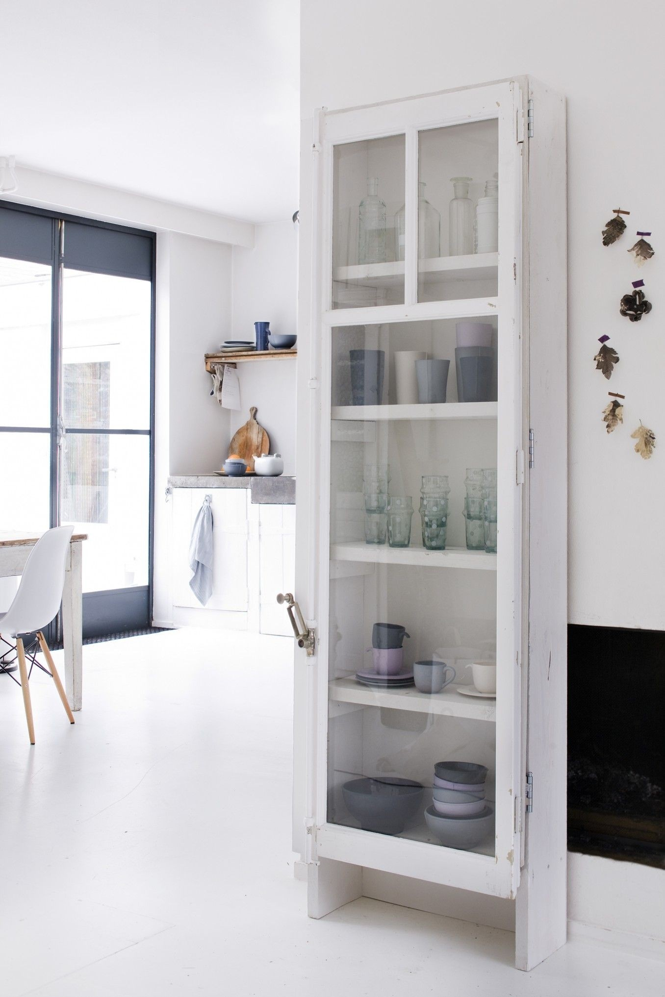 Fresh Narrow Cabinets With Doors Style