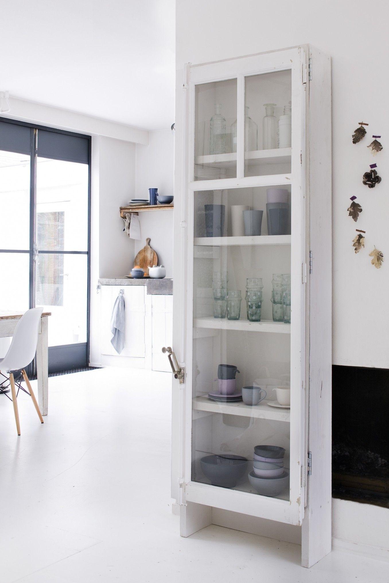 Cute Narrow Cabinet With Doors Exterior