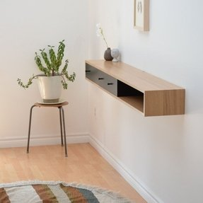 Narrow Console Table With Drawers Foter