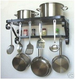 Wrought Iron Pot Rack Hooks - Ideas on Foter