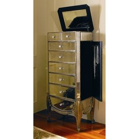 Solid wood jewelry armoires foter oxford jewelry armoire solutioingenieria Images