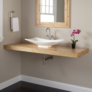 Diy Floating Shelves Bathroom Small Spaces