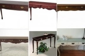 Queen Anne Sofa Table Foter