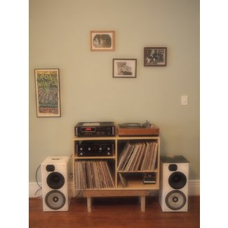 Record table stand