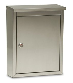 Regent Wall-Mount Locking Mailbox