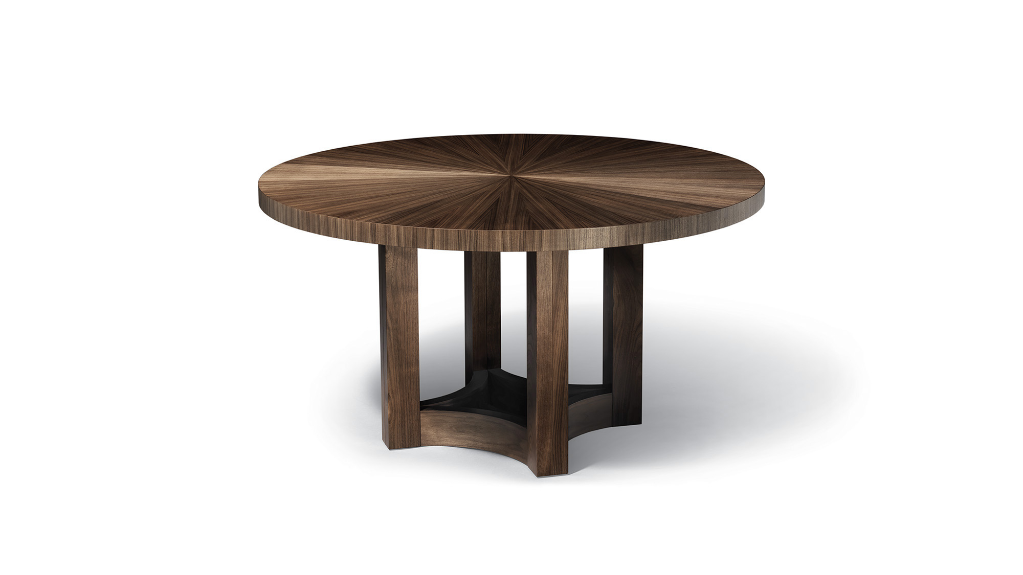 Round Dining Table With Leaf Extension 1
