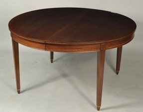 Round Dining Table With Leaf Extension Ideas On Foter