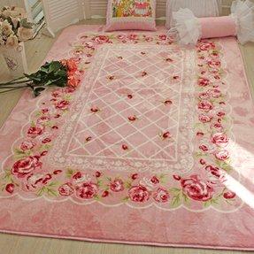 Pink Rose Rug Foter