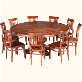 Large Round Dining Table Seats Foter