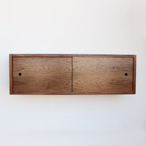 Sliding door sideboard 4