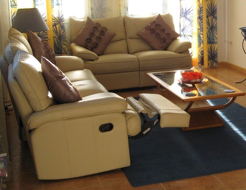 small sectional sofa with recliner ideas on foter rh foter com small sectionals with recliners small leather sectional sofa with recliner