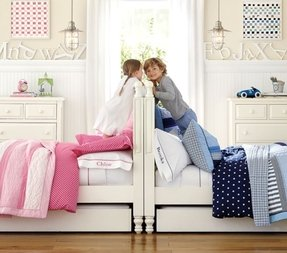 Storage headboard twin