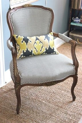 Striped Club Chair Foter