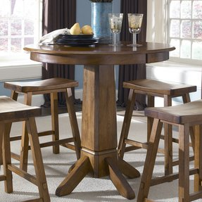 Tall pub table and chairs