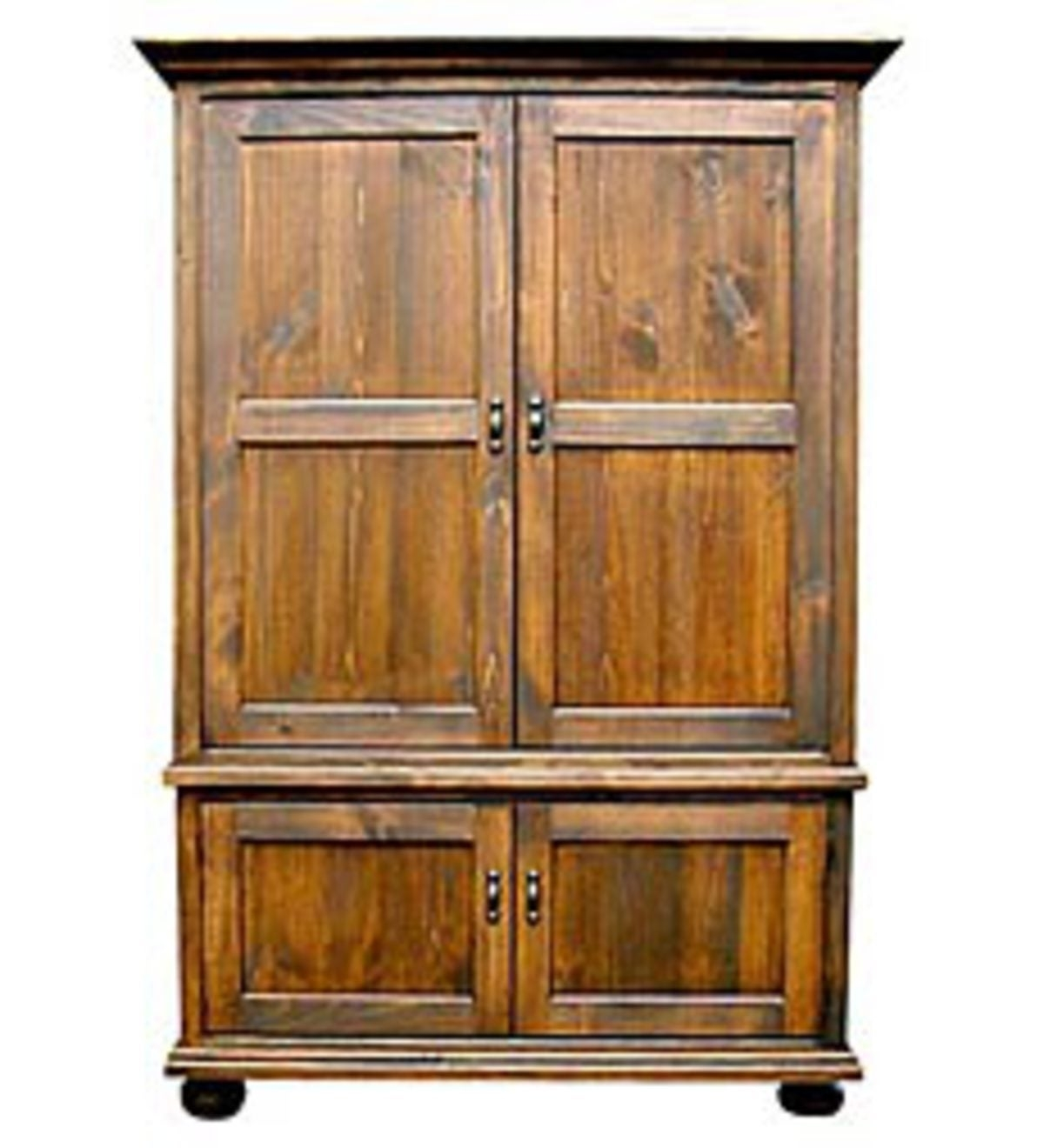 Television Armoire Pocket Doors
