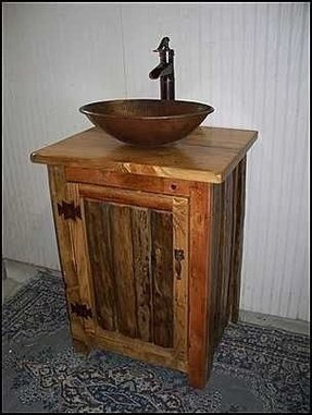 rustic bathroom vanities for vessel sinks rustic vessel sinks foter 25724