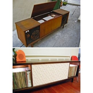 Vintage stereo cabinets for sale