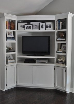 White Corner Tv Unit Ikea