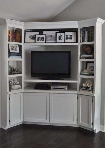 Beau White Corner Tv Unit Ikea
