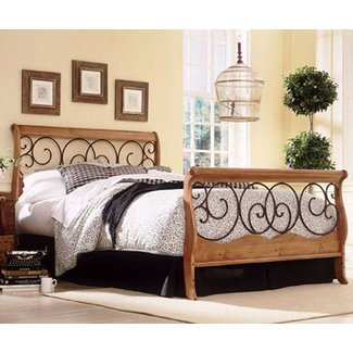 Wood and wrought iron bedroom sets ideas on foter for Wrought iron and wood bedroom sets