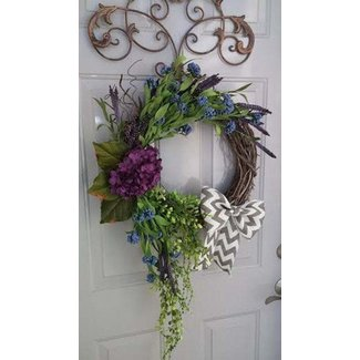 Large Front Door Wreaths Ideas On Foter