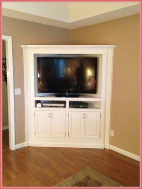 Corner Tv Stand Cabinet Ideas On Foter