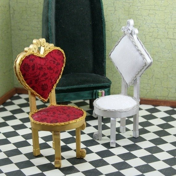 Alice In Wonderland Chair Collection The