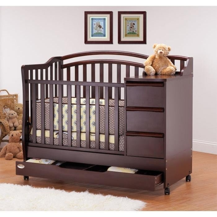 Delightful Baby Cribs With Storage Underneath