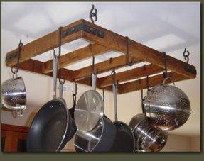 Hanging Bar Pot Rack Foter