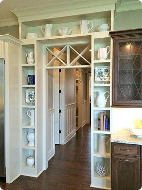 Bookcase cabinets with doors 1