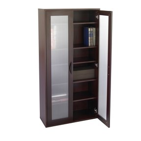 Bookshelves with doors