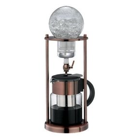 Bronze coffee maker 7