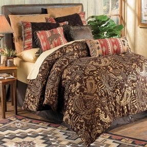 Chaps paisley bedding