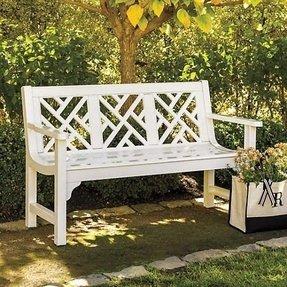 Chippendale Garden Bench