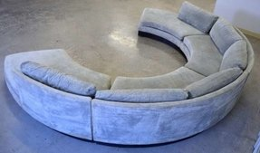 Circular curved sectional sofa contemporary sectional sofas 1