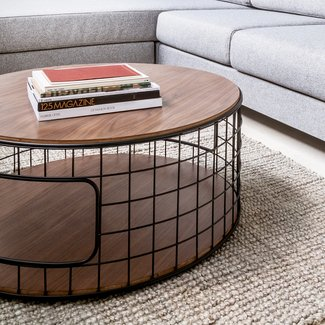 Coffee Table Dog Crate