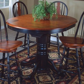 Round Counter Height Table With Leaf Ideas On Foter