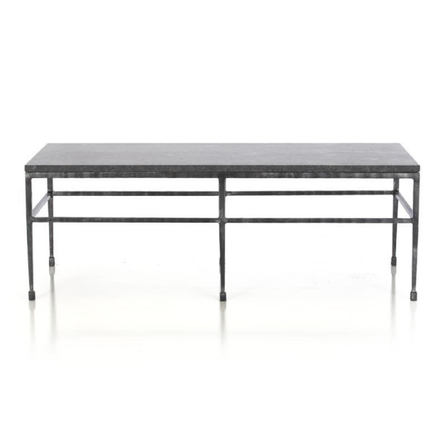 Crate And Barrel Bastille Granite Coffee Table