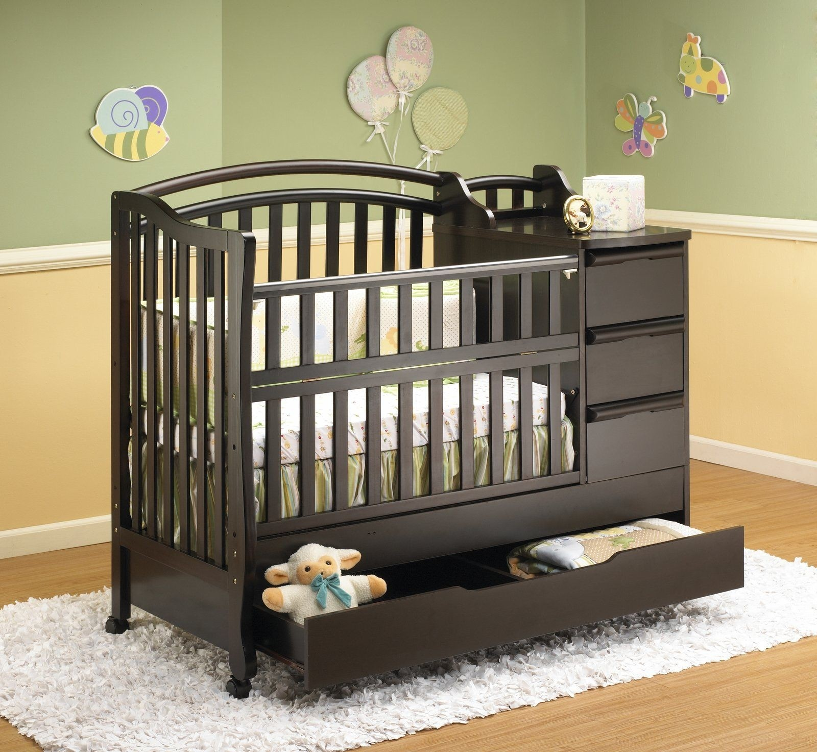 Superbe Crib With Storage Drawer   Ideas On Foter