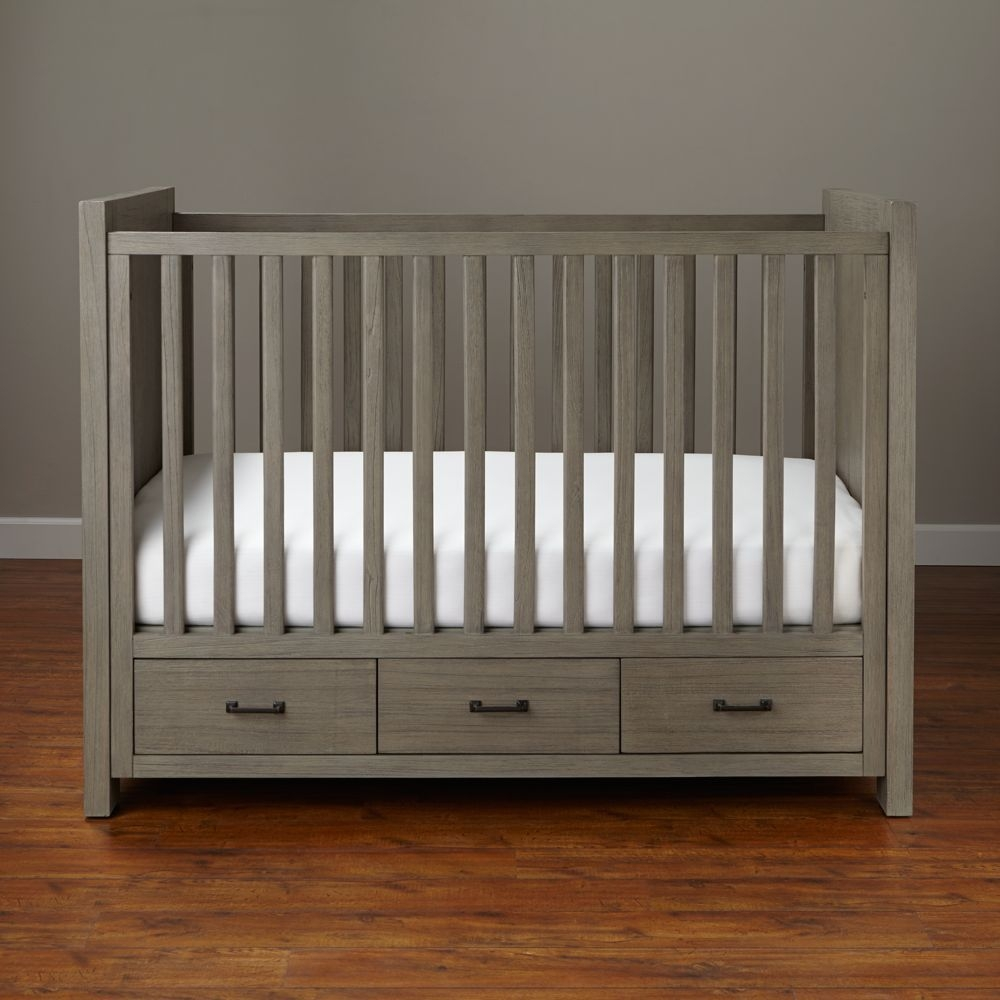 Charmant Crib With Storage Underneath