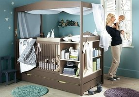 Cribs with storage 1