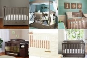 Cribs with storage