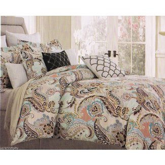 Blue Green Paisley Bedding Ideas On Foter