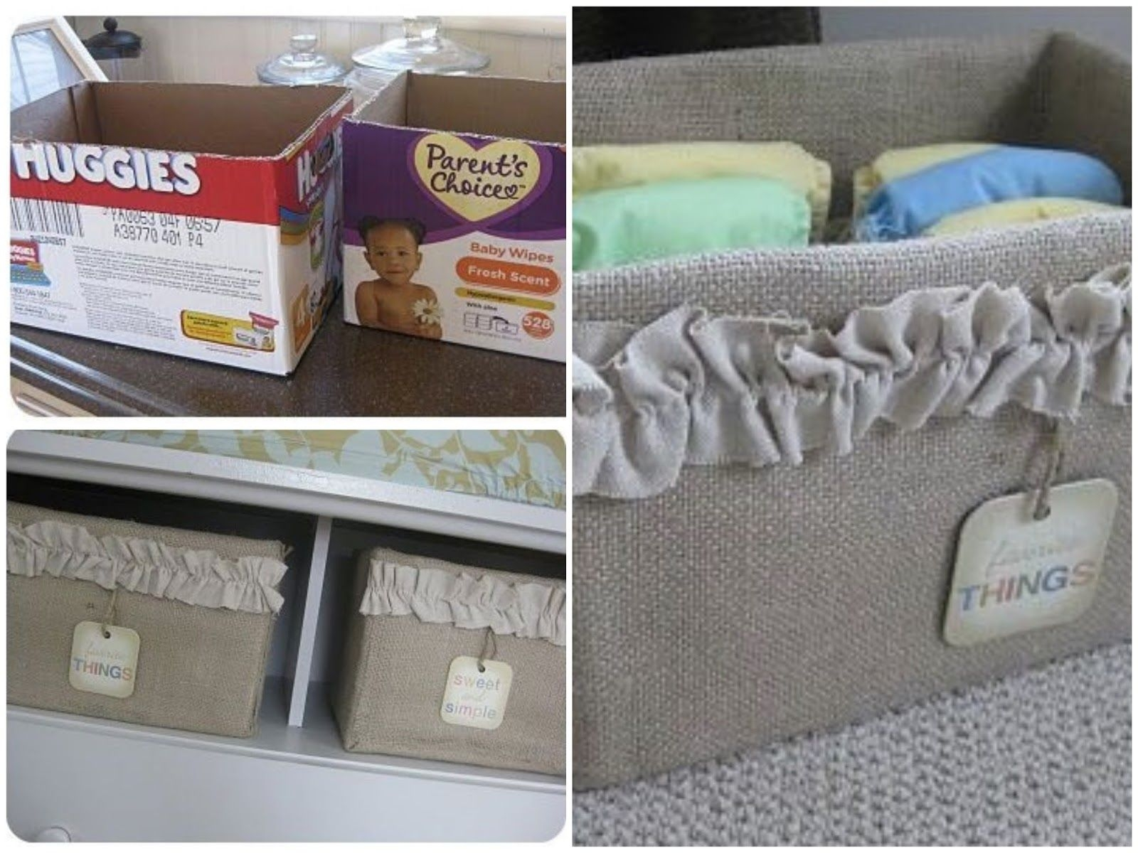 Decorative Fabric Storage Boxes   Ideas On Foter