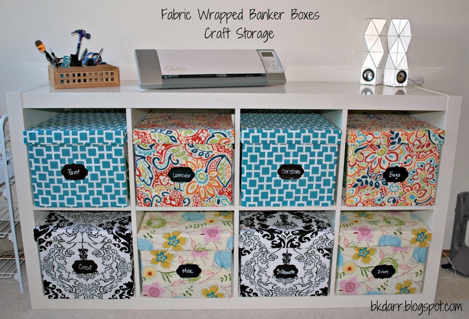 Decorative Fabric Storage Boxes 1