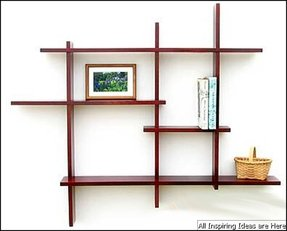 Mahogany Floating Shelves Foter
