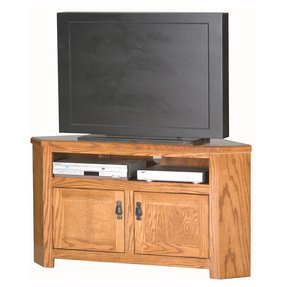 Eagle Furniture Eagle Furniture Mission 50 in. Corner Entertainment Center