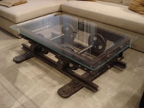 End tables with glass tops 5