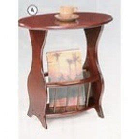 Exceptionnel End Tables With Magazine Racks
